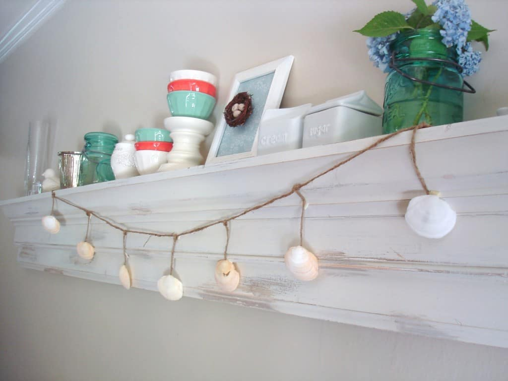 DSC03268 1024x768 pottery barn inspired shell garland (a tutorial)