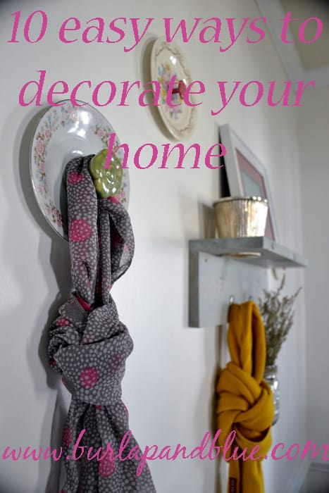 blogtitleimage  10 easy ways to decorate your home