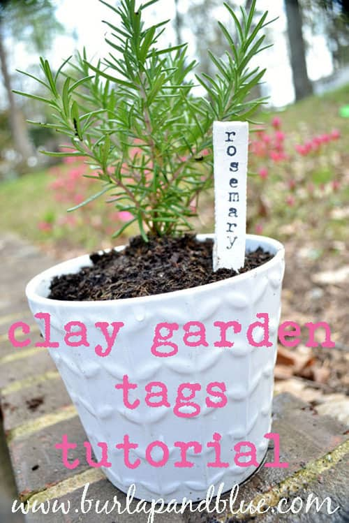 claytagstutorial copy clay garden tags {a tutorial}