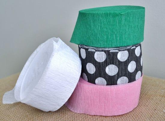 DSC 0008 crepe paper garland {a tutorial}