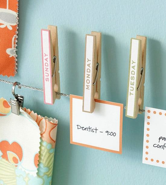 clothespin tutorials and ideas