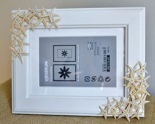 DSC 0018 3 starfish picture frame {a tutorial}