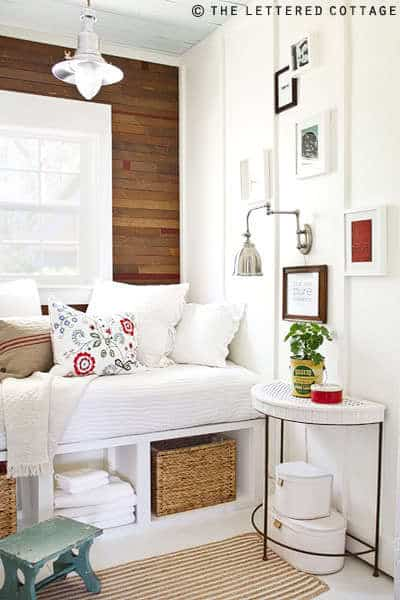 Reading Room Redo 2 home inspiration {cozy nooks}