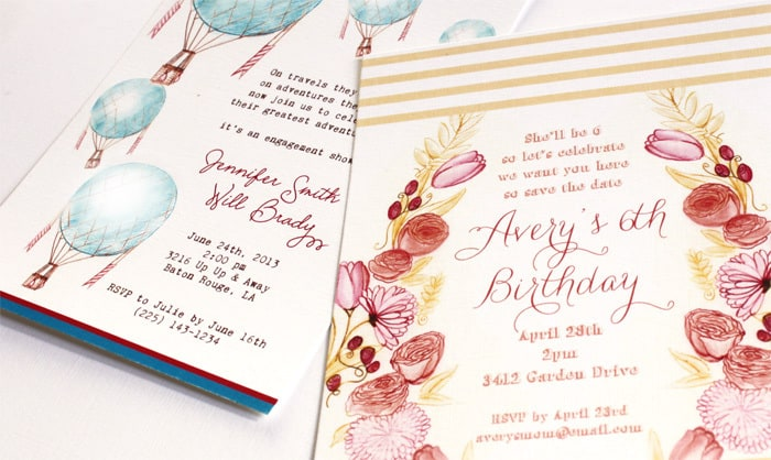 sampleinvites people I heart {paper & pigtails}