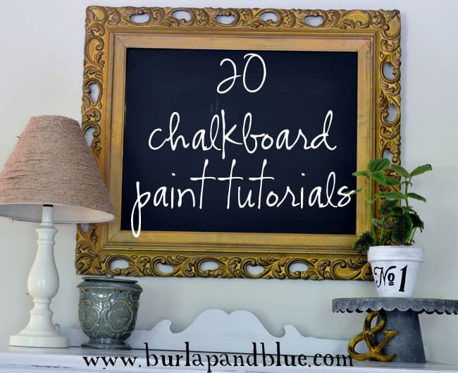Diy crafts for Chalkboard paint surface ideas
