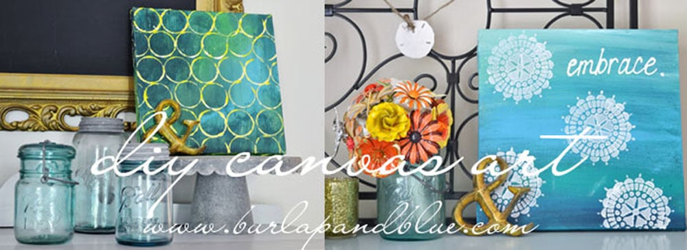 blogimage1 diy canvas art two ways