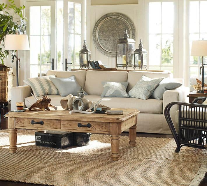 Going Coastal Pottery Barn Part I: DIY Crafts