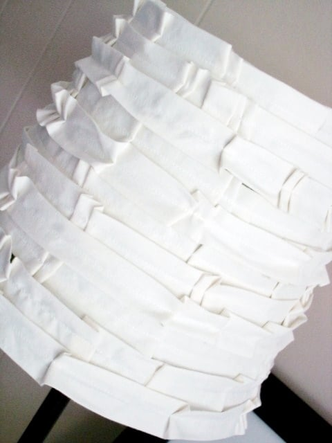 DSC07697 shabby pleated lampshade {a tutorial}