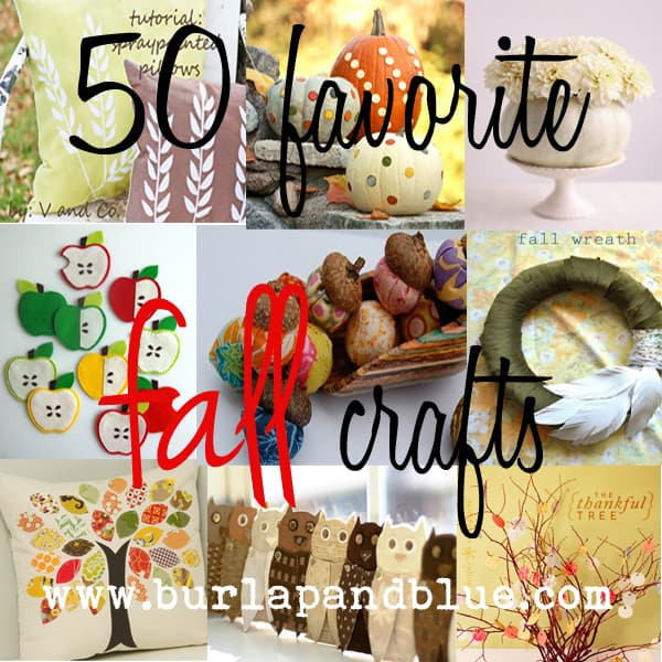 fallcrafts 50 favorite fall crafts