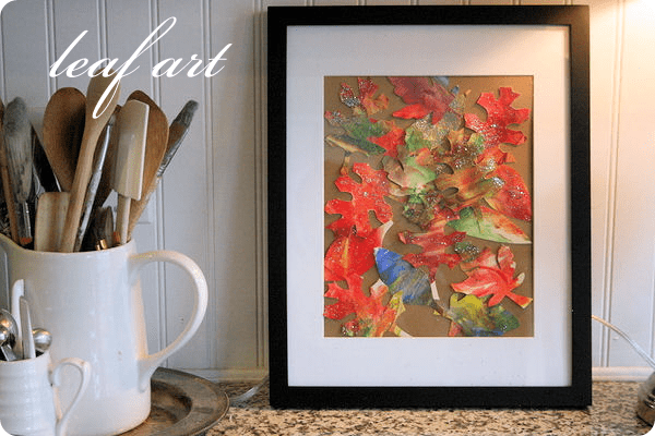 leaf art 50 favorite fall crafts