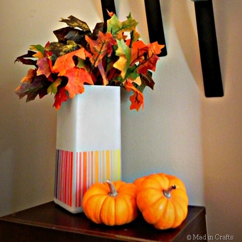ombre lamp vase square thumb1 favorite fall craft ideas