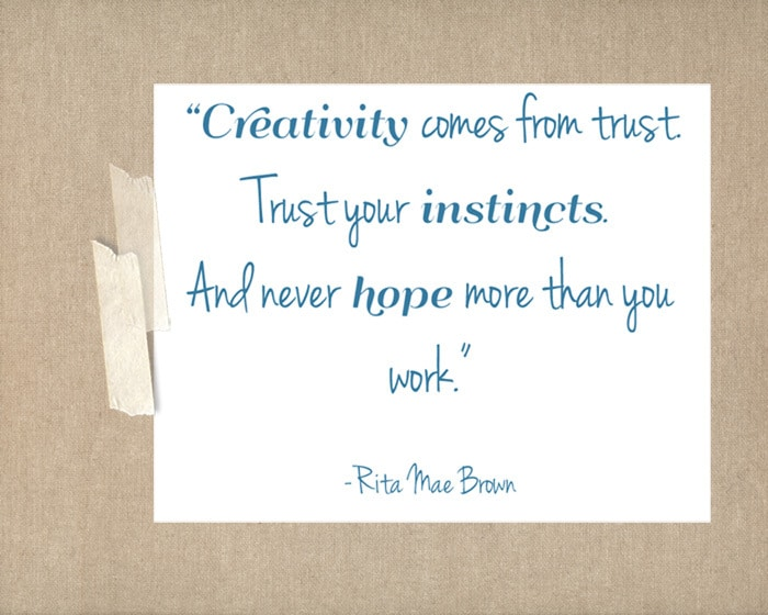 quote11 free printable friday {creativity quotes}