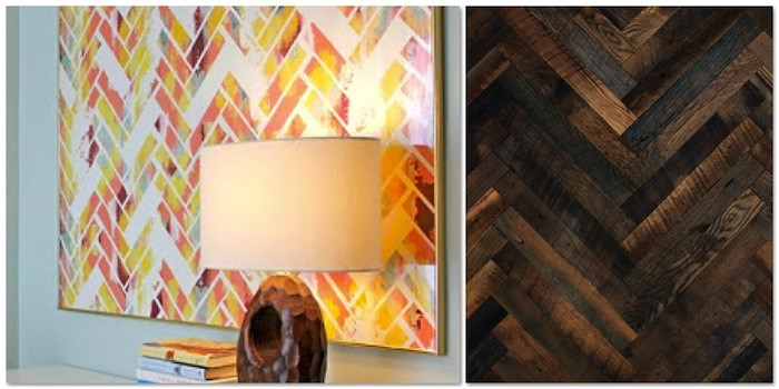 herringbone design trend