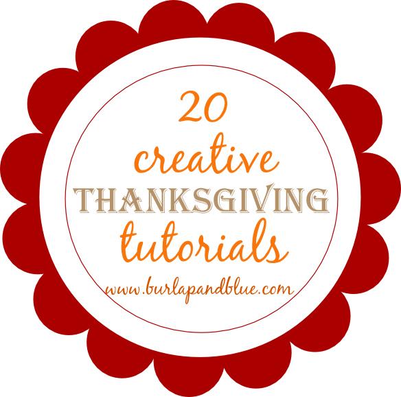 b+bthanksgiving 20 creative thanksgiving tutorials and crafts