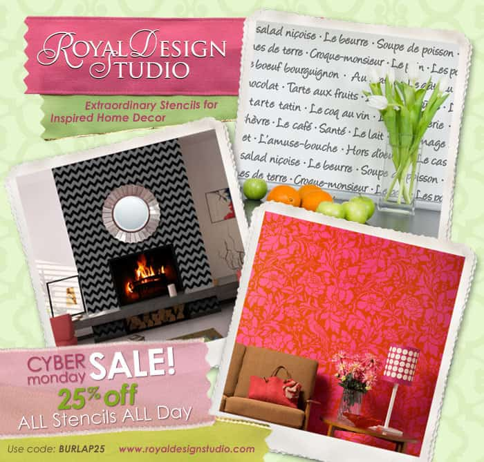 burlapBlue CyberMonday 2012 holiday gift guide 2012 {royal design studio}