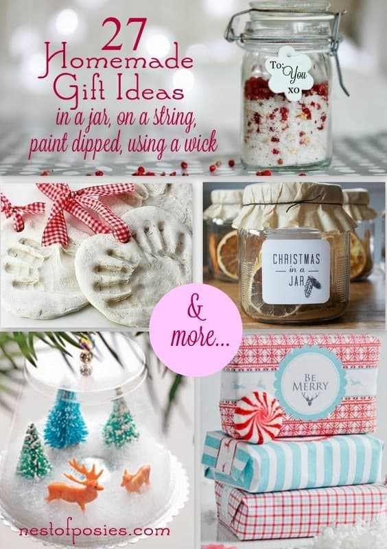 homemade holiday gift ideas favorite finds {home decor and crafts}