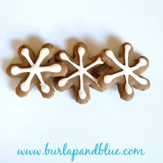 gingerbread snowflakes {a recipe}