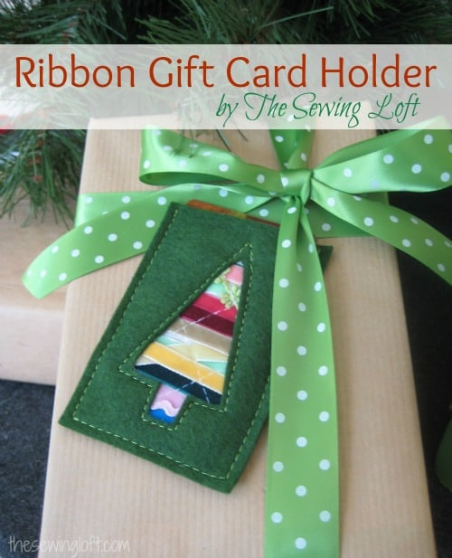 Gift Card Holder  50 favorite christmas crafts