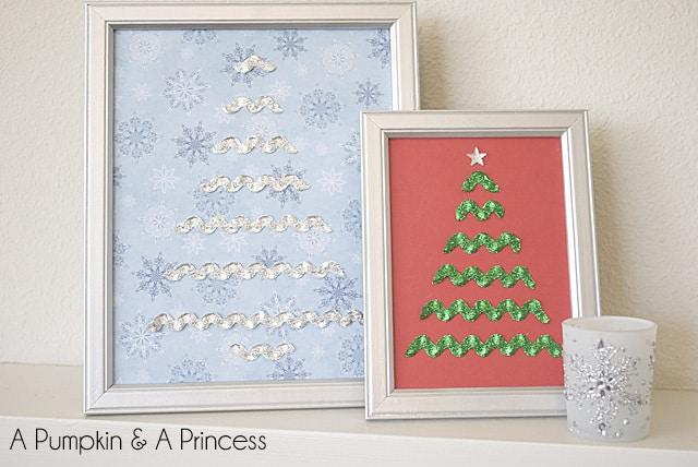 Rick Rack Christmas Trees 50 favorite christmas crafts