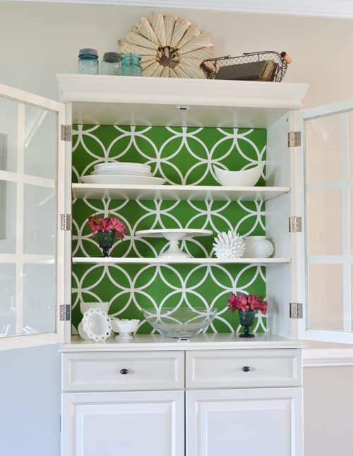 china cabinet1 home tour