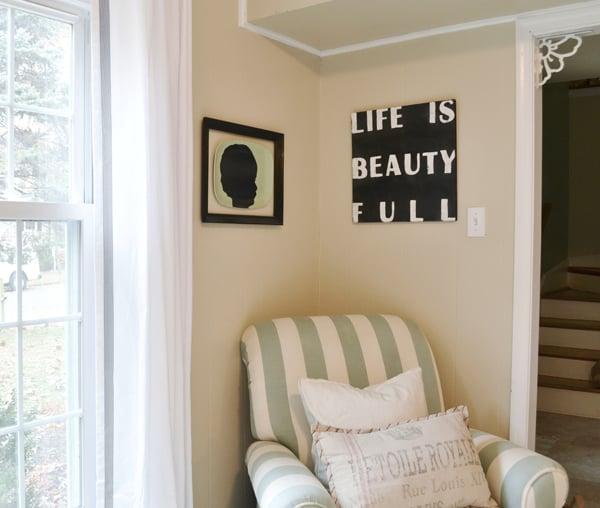 washi tape window treatments