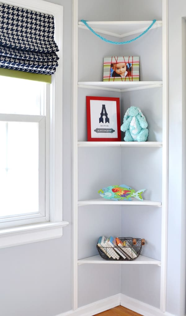 built ins 2 fabric wrapped photo display {a tutorial}