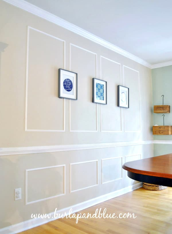 picture rail molding. DIY Crafts