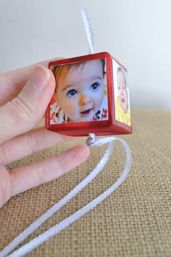 DSC 0010 9 personalized photo ornaments {a tutorial}