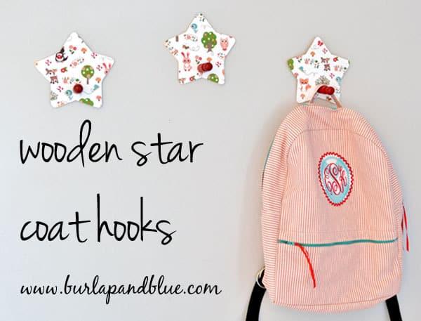 star coat hooks