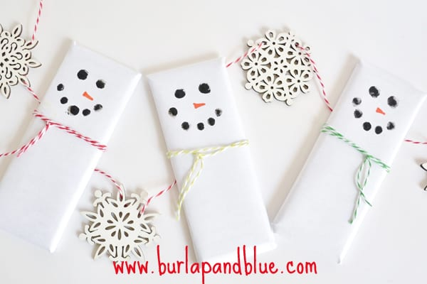 snowman candy bars2 easy & adorable snowman candy bars