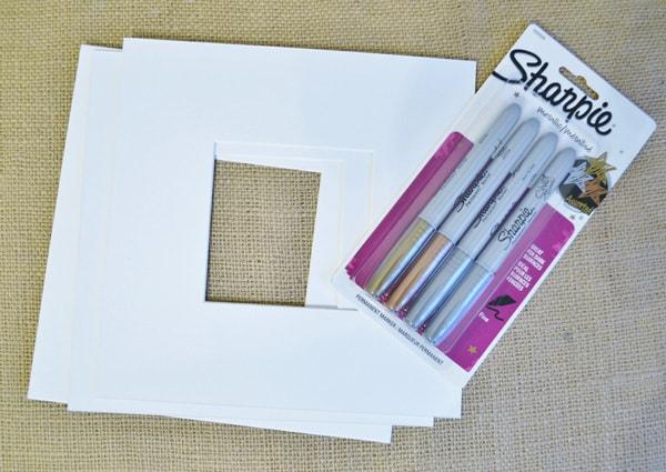 decorate photo mats
