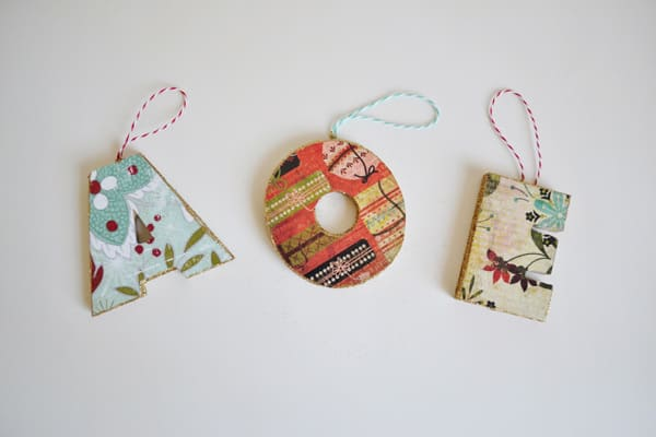 initial ornaments 3 mod podged initial ornaments {a tutorial}