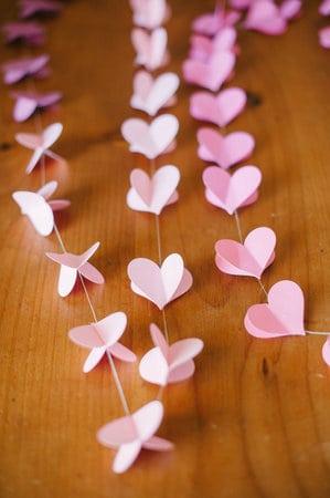 1367523838 content DIY Strung Heart Garland 1 20 valentines day crafts and tutorials