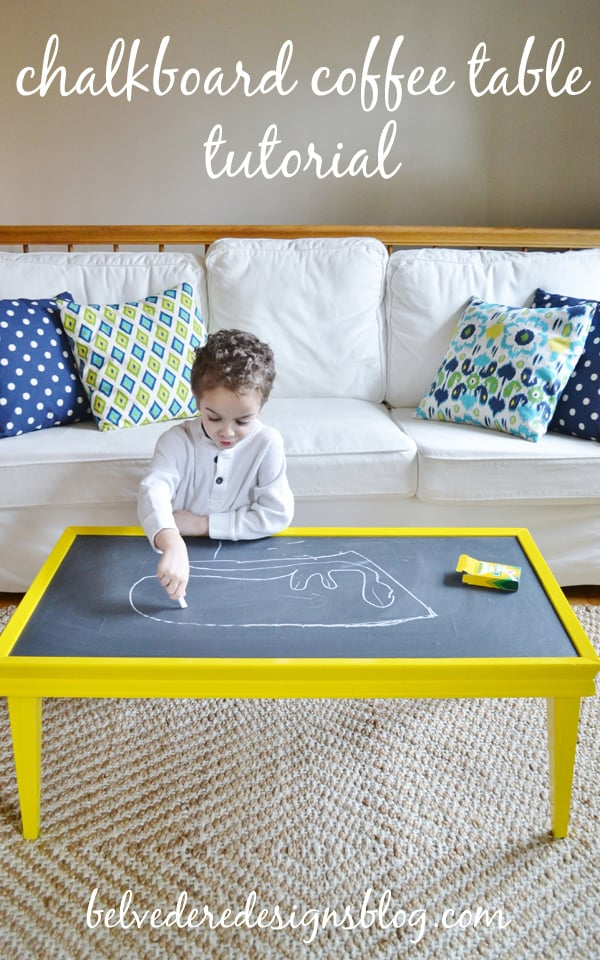 chalkboard coffee table 1