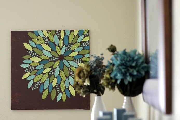 flower-canvas-paper-flower-easy-wall-decor