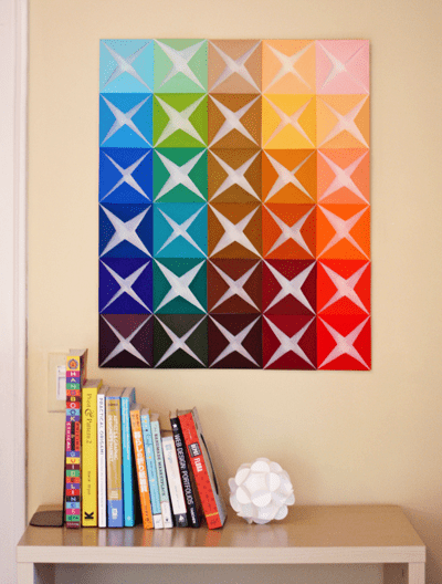 folded-paper-wall-art