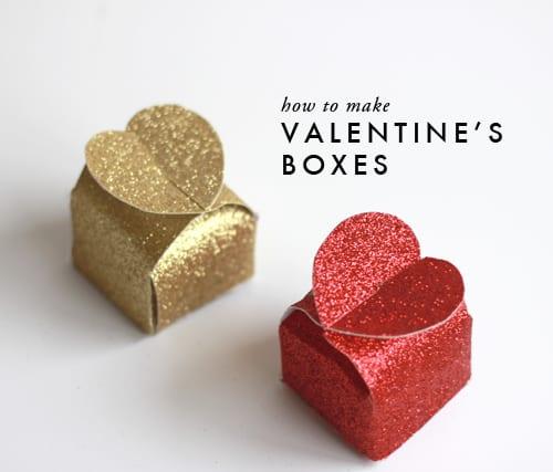 valentine's-boxes
