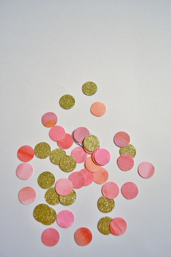 vday garland 2 glitter and watercolor confetti garland {a tutorial}