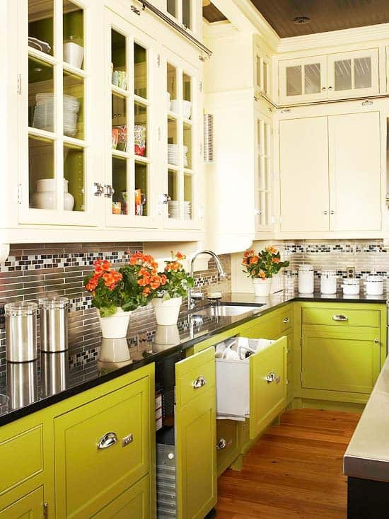 yellow-and-white-cabinets