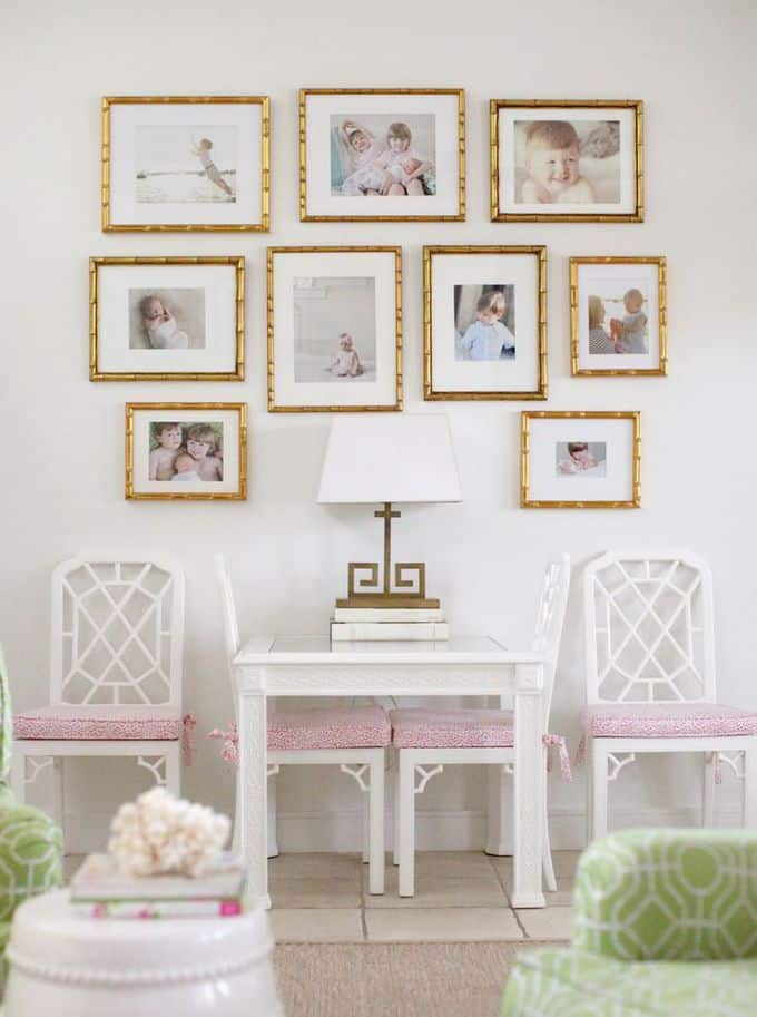 Pink and gold rooms - Pink and gold living room ...