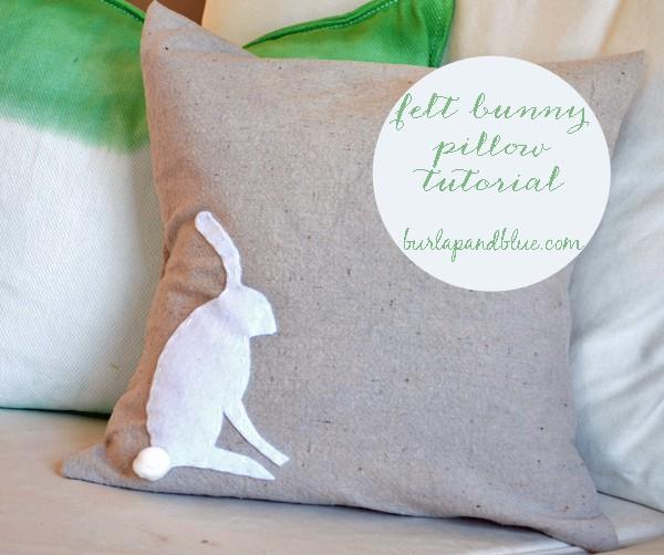 DSC 0002 42 felt bunny pillow {a tutorial}