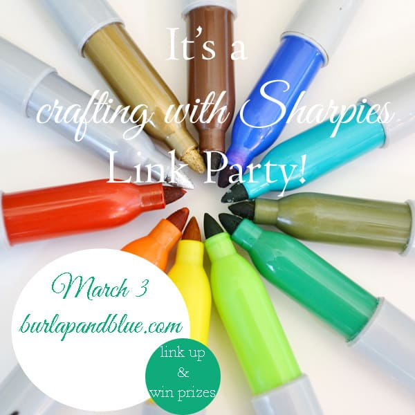 crafting with sharpies