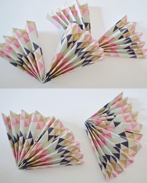 acordian flower collage