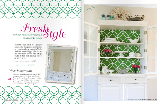 china cabinet tutorial