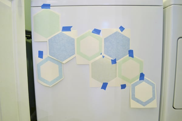 hexagon washer 2