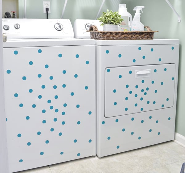 polka dot washer
