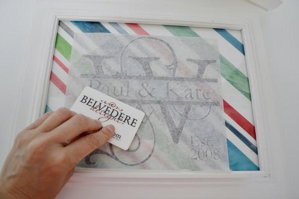 DSC 0084 personalized monogram frame {a tutorial}