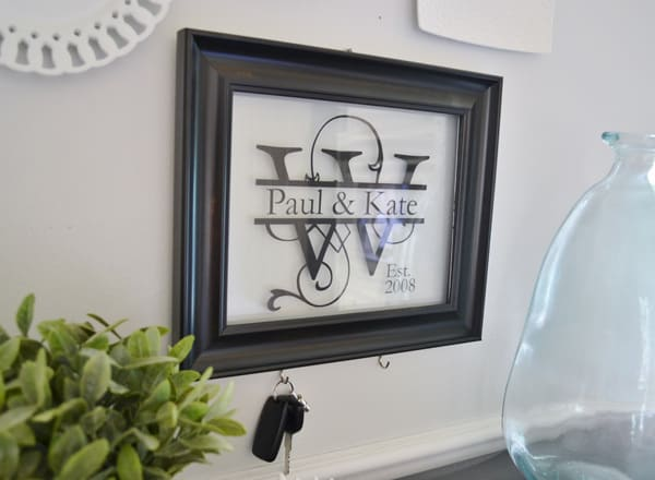 monogram frame tutorial