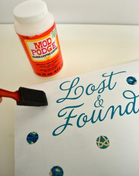 lost and found vinyl decals