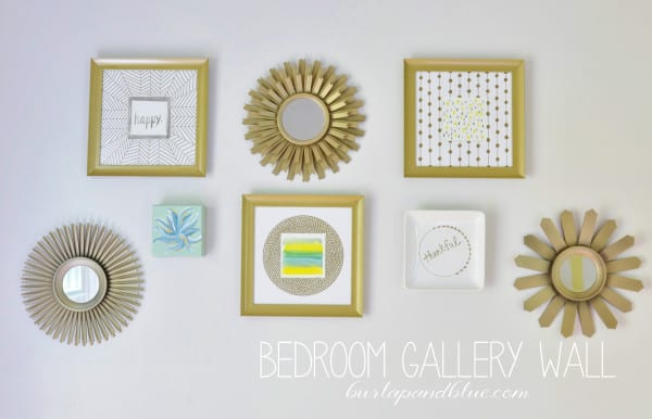 bedroom gallery wall 600x386 bedroom gallery wall